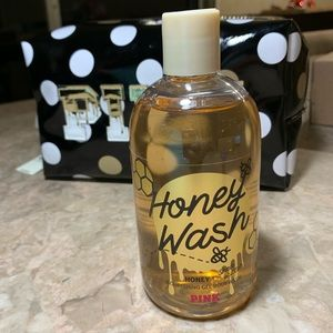 PINK VS Body Wash Honey + Shea Butter 12 FL oz
